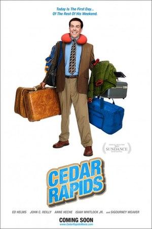 Cedar Rapids (film) - Theatrical release poster