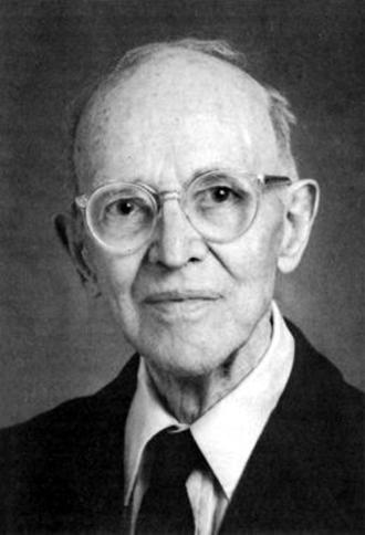 Charles Hartshorne - Portrait of Charles Hartshorne circa 1990