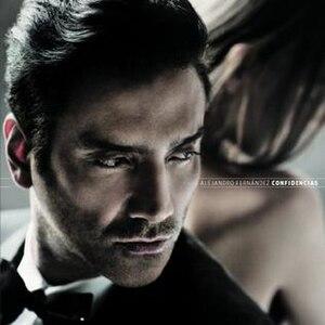 Confidencias (Alejandro Fernández album) - Image: Confidencias cover
