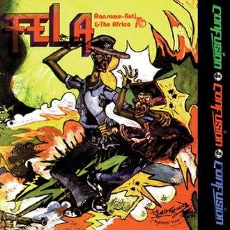 Confusion (album) - Image: Confusion Fela Kuti