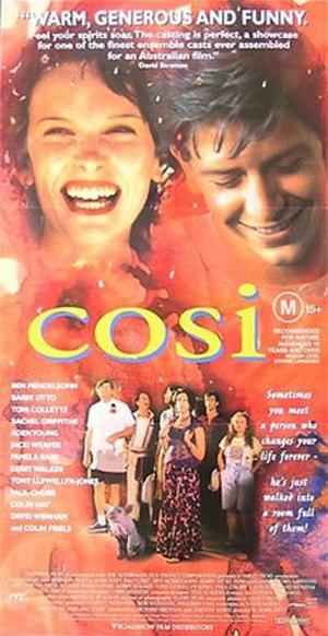 Cosi (film) - Theatrical film poster