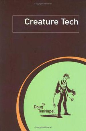 Creature Tech - Cover of Creature Tech TPB