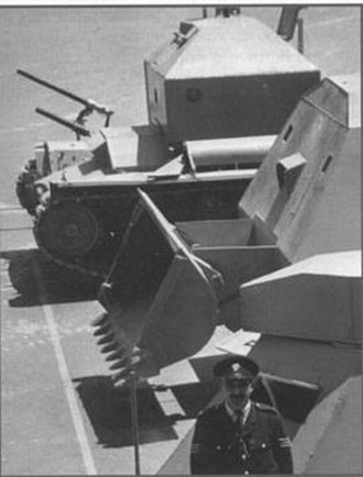 Cypriot National Guard - National Guard's tanks used in 1964.