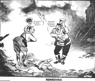 World War II political cartoons