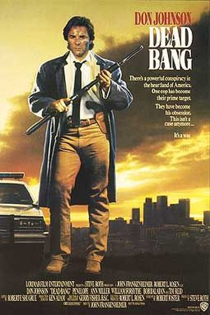 Dead Bang - Theatrical release poster