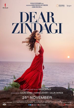 Dear Zindagi - Theatrical release poster