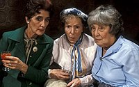 Dot Cotton, Ethel Skinner and Lou Beale were Walford's original pensioners.