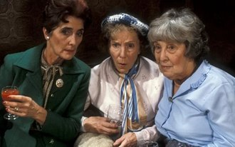 Dot Cotton, Ethel Skinner and Lou Beale were Walford's original pensioners. Dot Lou Ethel ee.jpg