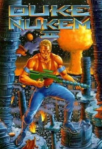 Duke Nukem II - Image: Duke Nukem II Cover