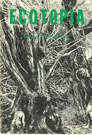 Ecotopia - Cover of the first edition