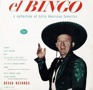 El Bingo – A Collection of Latin American Favorites - Image: El Bingo Latin American Favorites (album cover)