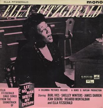 "Ella Fitzgerald Sings Songs from ""Let No Man Write My Epitaph"" - Image: Ella Fitzgerald Let No Man"
