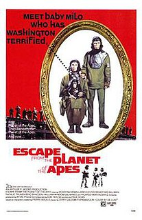 <i>Escape from the Planet of the Apes</i> 1971 science fiction film from the Planet of the Apes franchise directed by Don Taylor