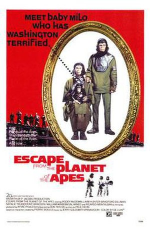 Escape from the Planet of the Apes - Image: Escape from the planet of the apes