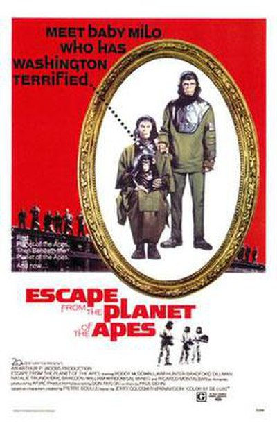 Picture of a movie: Escape From The Planet Of The Apes