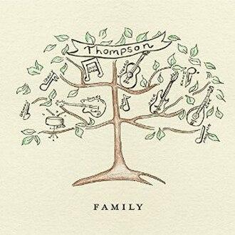 Family (Thompson album) - Image: Family (Thompson album) album cover