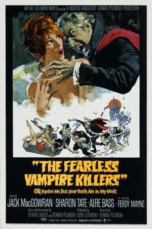 The Fearless Vampire Killers - Film poster by Frank Frazetta