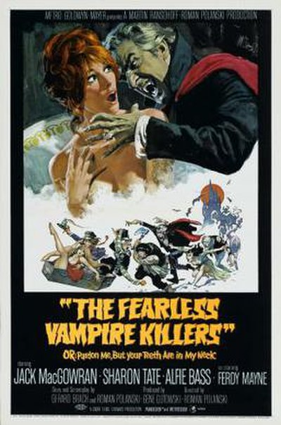 Picture of a movie: The Fearless Vampire Killers