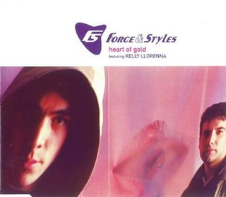 Heart of Gold (Force & Styles song) 1998 single by Darren Styles
