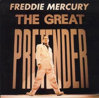 The Great Pretender - Image: Freddie Mercury The Great Pretender Single 1993