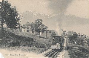 Glion - Glion et le Grammont, c1910