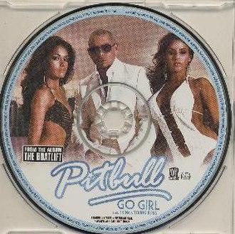 Go Girl (Pitbull song) - Image: Go Girl single