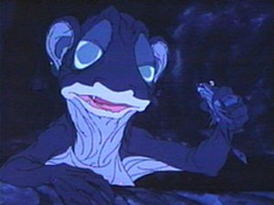 Gollum - Gollum in Rankin/Bass's animated version of The Hobbit