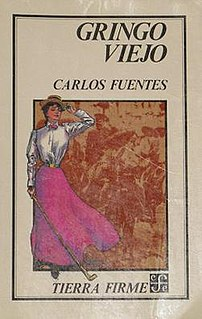 <i>The Old Gringo</i> book by Carlos Fuentes