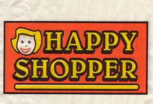 Happy Shopper - The original Happy Shopper logo