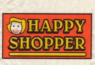 Happy Shopper - The original Happy Shopper logo