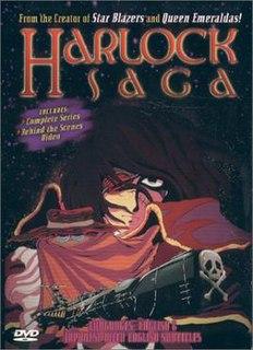 <i>Harlock Saga</i> 1990s manga series starring Captain Harlock