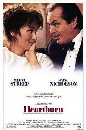 Heartburn (film) - Original theatrical release poster