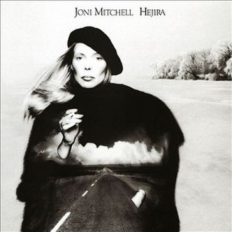 Hejira (album) - Image: Hejira cover