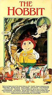 <i>The Hobbit</i> (1977 film) 1977 animated film directed by Jules Bass and Arthur Rankin, Jr.