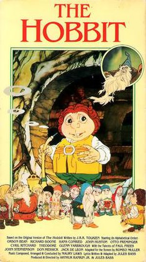 The Hobbit (1977 film) - Cover of 1991 USA video release