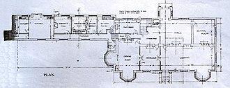 De Vere Horwood Estate - Horwood House – The original ground floor building plan