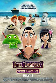 <i>Hotel Transylvania 3: Summer Vacation</i> 2018 film directed by Genndy Tartakovsky