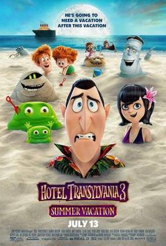 Hotel Transylvania 3: Summer Vacation - Teaser poster
