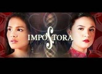 Impostora - Title card