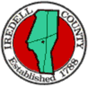 Iredell County, North Carolina - Image: Iredell County, North Carolina seal