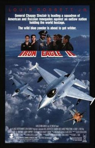 Iron Eagle II - Theatrical release poster