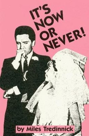 It's Now or Never! - First Edition UK cover
