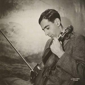 Ivan Galamian - Galamian, circa 1930s