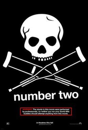 Jackass Number Two - Theatrical release poster