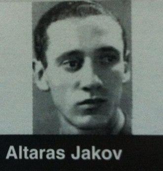 Jakob Altaras - Jakob Altaras during his studies at the University of Zagreb around 1938-9.