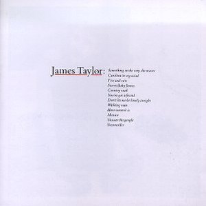 Greatest Hits (James Taylor album) - Image: James Taylor Greatest Hits
