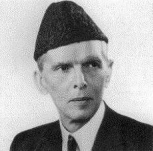 Karakul sheep - Muhammad Ali Jinnah, Founder of Pakistan, wearing a Karakul hat