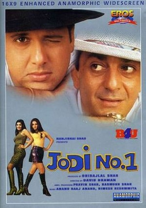 Jodi No.1 - DVD Cover