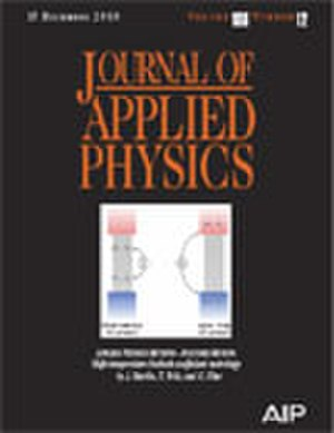 Journal of Applied Physics - Image: Journal of Applied Physics