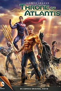<i>Justice League: Throne of Atlantis</i> 2015 film by Ethan Spaulding